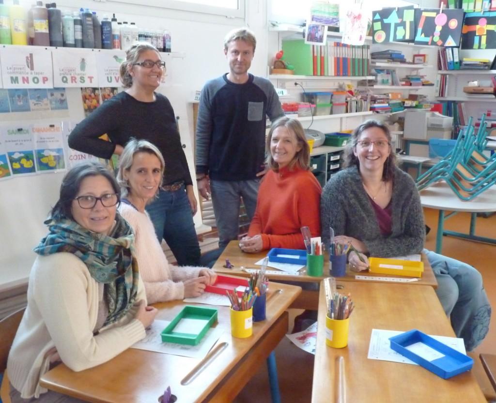 Ecoles d'Ars et Loix - Enseignants et Méli Mélo - 21 novembre 2016