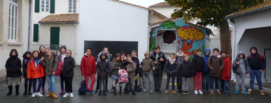 Ars-en-Ré - Classes des cours moyens - 23 novembre 2016
