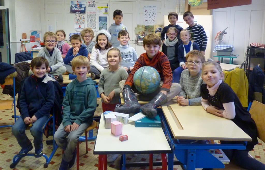 Ars-en-Ré - Classes des cours élémentaires - 23 novembre 2016