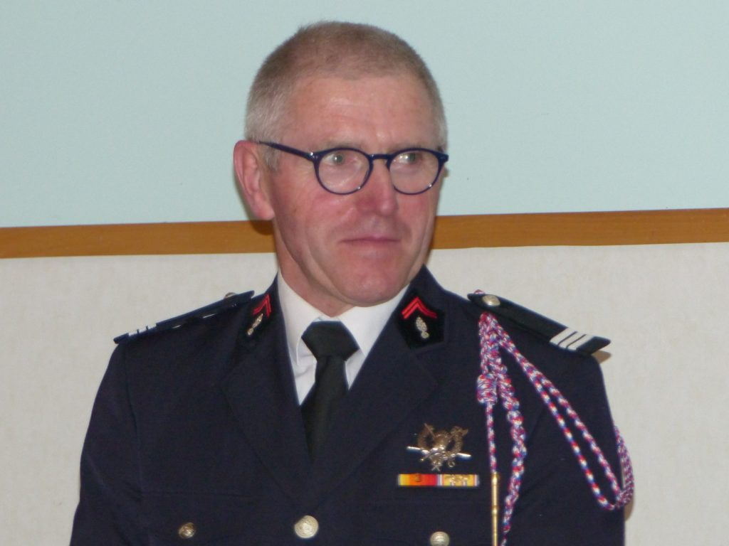 Dominique Greilier, capitaine de pompiers - 11 décembre 2016