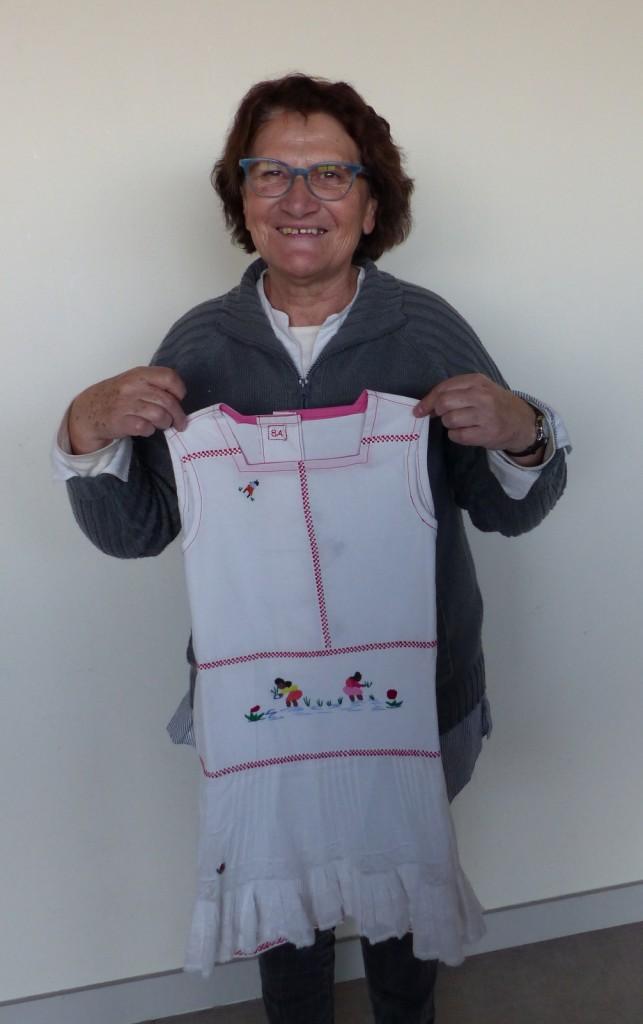 Robes des mamies couturières des Amis d'Arbollé - Décembre 2016