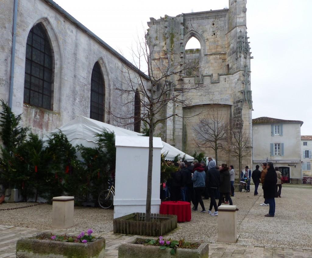 Saint-Martin de Ré - Crèche vivante - 24 décembre 2016