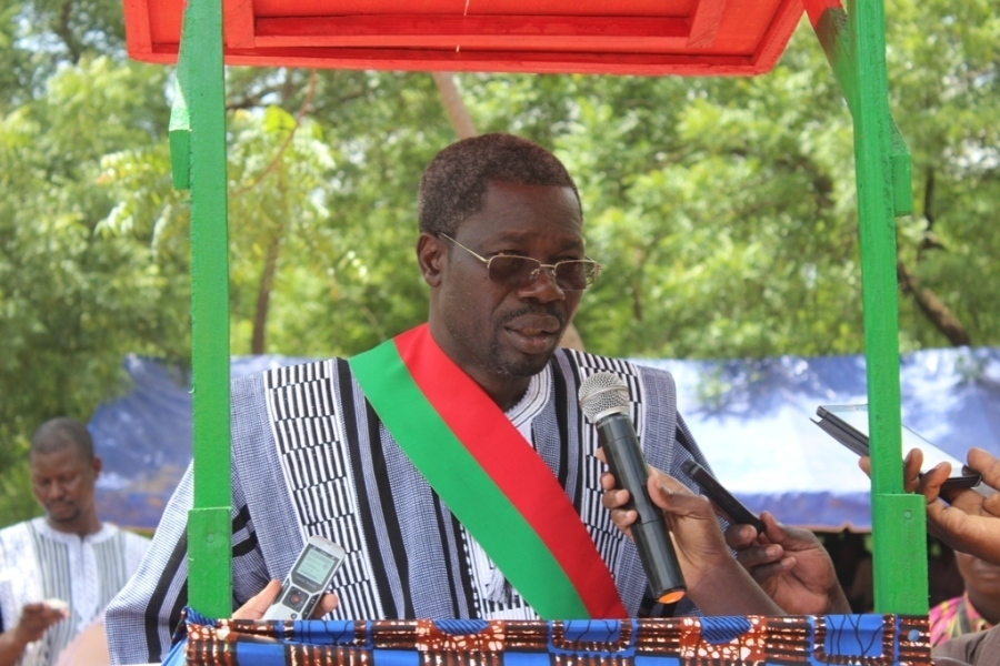 Boureima Oudreogo, maire d'Arbollé 2016