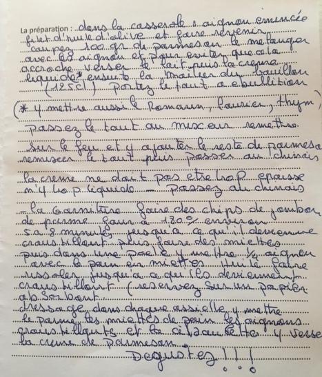 Soupe Parme Parsesan - Louche d'Or de Loix 2016