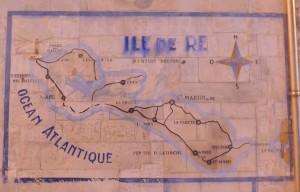 Saint-Martin - Carte murale Ile de Ré - 7 janvier 2017
