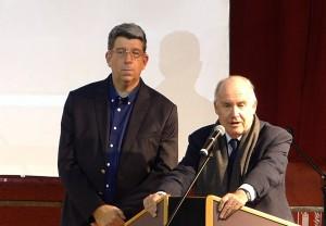 Lionel Quillet et Dominique Bussereau - 17 janvier 2017