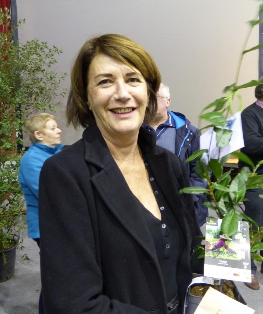 Voeux CDC 2017 - Gisèle Vergnon - Arbre à thé