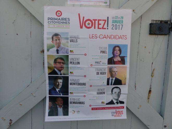 Primaires de la gauche - Saint-Martin de Ré - 22 janvier 2017