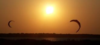 Kite-surf à Rivedoux-Plage