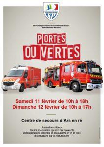 Caserne pompiers Ars - Portes ouvertes - 11 et 12 février 2017
