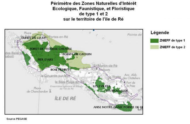 Ile de Ré - ZNIEFF - février 2017