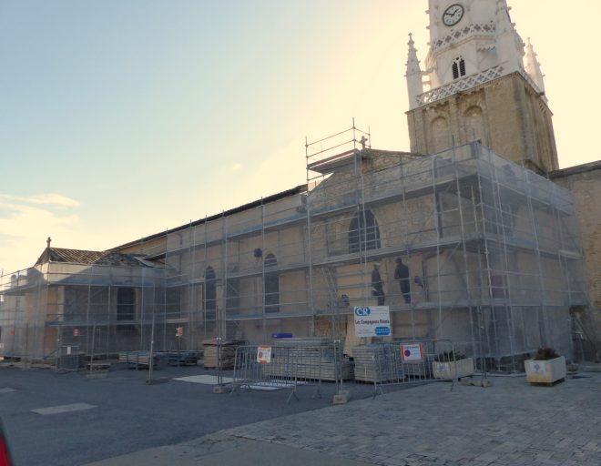 Ars - Travaux église - 7 novembre 2016