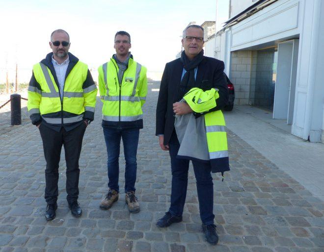 Port de La Flotte - Equipe Bonnet - 30 mars 2017.