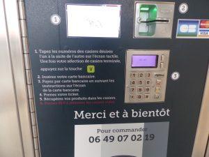 Libre service L'huîtrière de Ré - Ars-en-Ré - 30 mars 2017