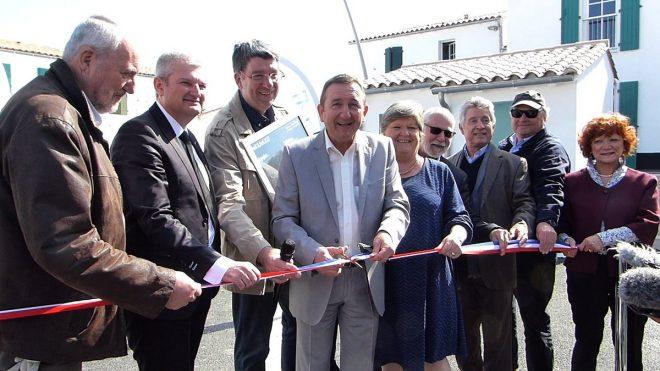 Rivedoux - Inauguration Les Breuils - 11 avril 2017