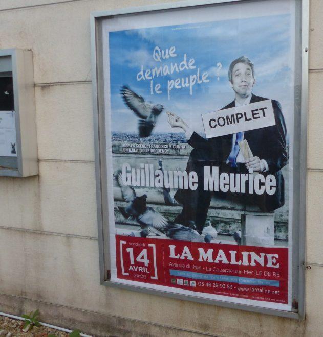 Guillaume Meurice -La Maline - 14 avril 2017