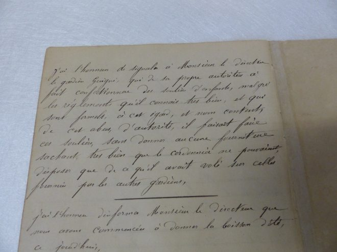Carnet du gardien-chef de la prison de Saint-Martin - Décembre 2016