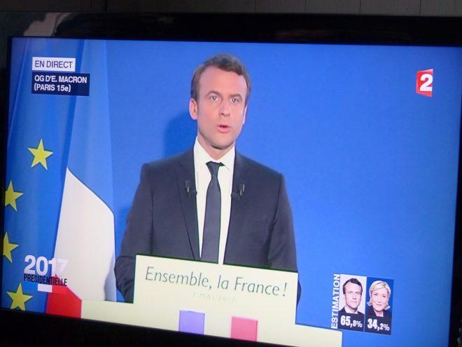 Emmanuel Macron - Président - 7 mai 2017