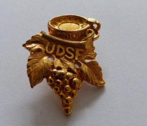 Médaille de Jean-Luc Pouteau - Meilleur Sommelier du Monde en 1983 -