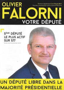 Tract de campagne de Olivier Falorni - juin 2017