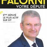 Olivier Falorni, réélu député de la 1ère circonscription
