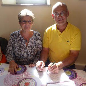 Sainte-Marie de Ré - Dédicace Anne Pawlak et Dominique Levaux-Thomas - 25 juillet 2017