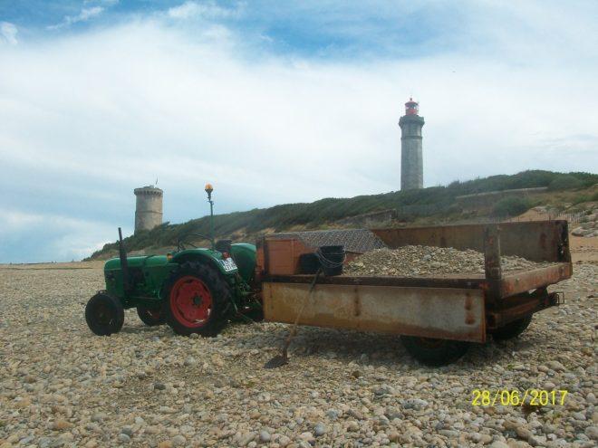 Saint-Clément des Baleines - Tracteur de Moufette - juin 2016