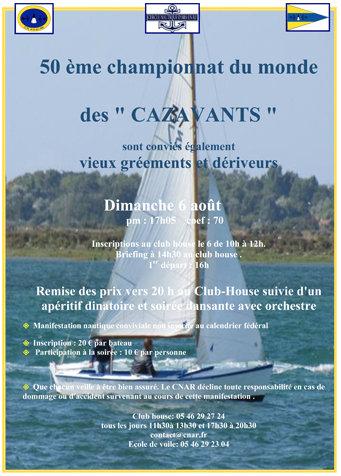Ars-en-Ré - Affiche 50e championnat Cazavant - 6 août 2017