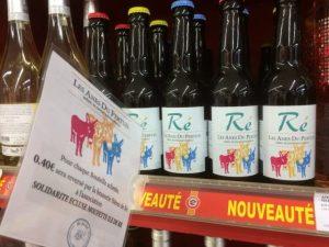Stop rayon Bière Anes des Pertuis - Août 2017