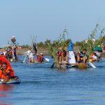 Sept OFNI en parade dans le port d'Ars-en-Ré