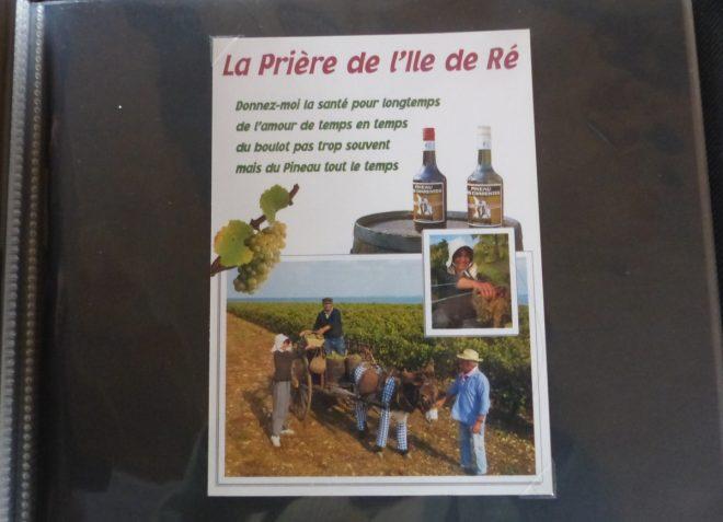 Ile de Ré - Vieille carte postale - Septembre 2017