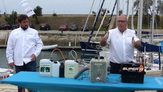 Pile hydrogène - Bateau Destination Ile de Ré - 6 septembre 2017