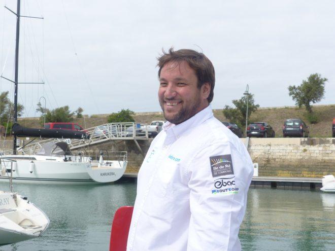 Antoine Cornic - Skipper du Bateau Destination Ile de Ré - 6 septembre 2017