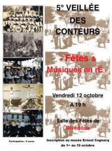 Affiche 5ème veillée Conteurs Rétais -2012