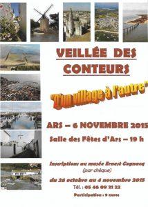 Affiche 8ème veillée Conteurs Rétais 2015