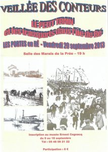 Affiche 6ème veillée Conteurs Rétais -2013
