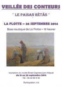 Affiche 7ème veillée Conteurs Rétais -2014
