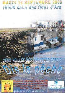 Affiche 2ère soirée Conteurs Rétais -2008