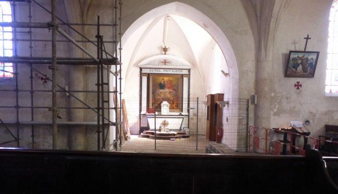 Ars-en-Ré - Eglise - Chapelle des Trépassés - 22 septembre 2017