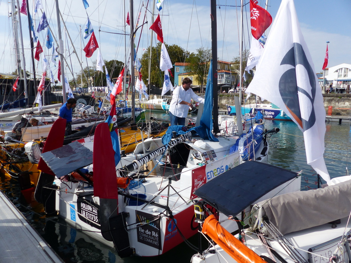 Destination Ile de Ré - Mini-Transat - 28 septembre 2017