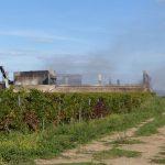 Incendie au centre de transfert des déchets du Bois-Plage