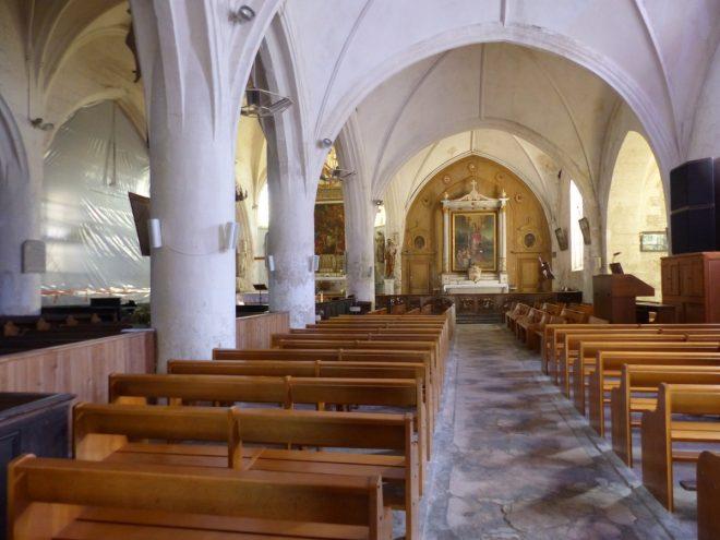Ars-en-ré - Travaux intérieur église - 7 octobre 2017