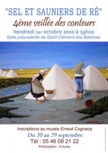 Affiche 4ème soirée Conteurs Rétais -2010