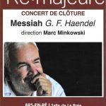 Le Messie de G.F. Haendel, dirigé par Marc Minkowski