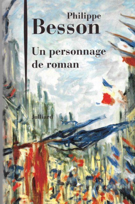 Un personnage de roman par Philipe Besson - novembre 2017