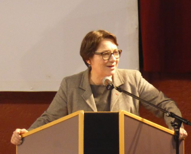 Ile de Ré - Voeux CDC - Corinne Imbert, sénatrice - 16 janvier 2018