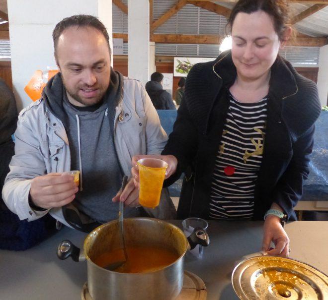 Eva Goussot - Louche d'Argent Soupe de Loix - 30 décembre 2017