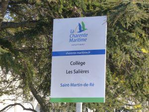 Saint-Martin e Ré - Collège Les Salières - 27 janvier 2018