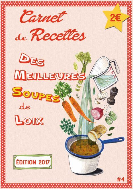 Carnet recettes soupes de Loix 2017