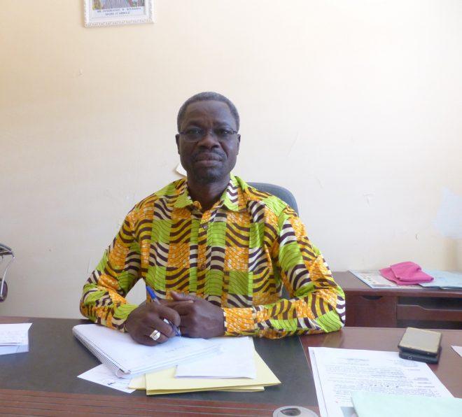 Boureima Ouedraogo, maire d'Arbollé - 8 février 2018.